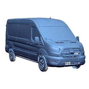 3D Scan Ford Transit - 148 MR RL (ISO view)