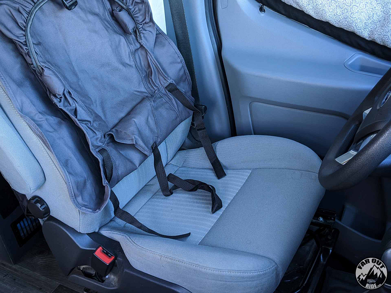 Seat Covers Ford Transit OEM Covercraft Review (4)