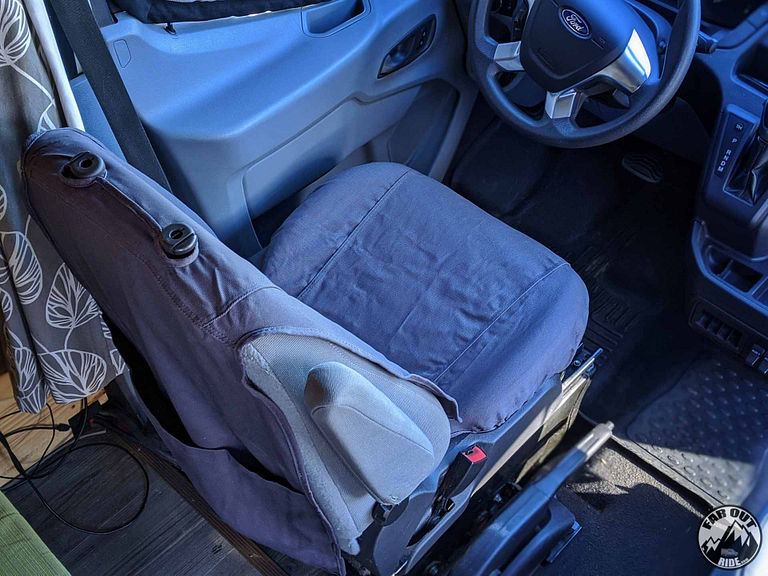 Seat Covers Ford Transit OEM Covercraft Review (7)
