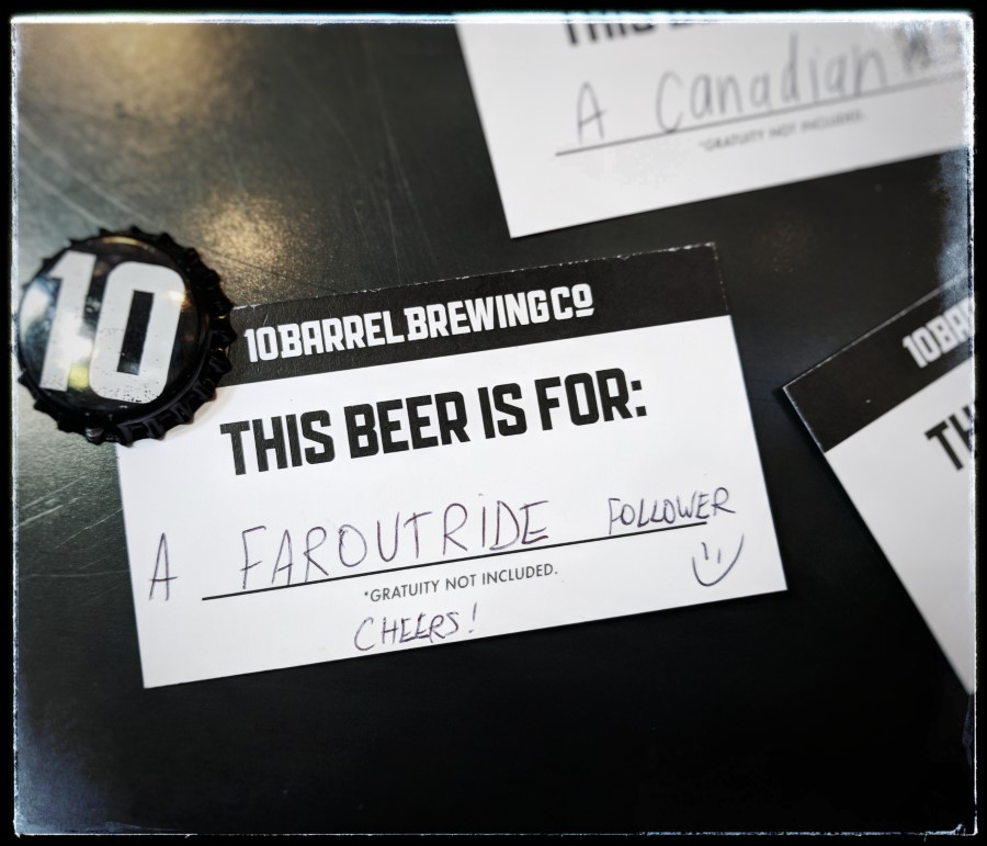 Free Beer Faroutride