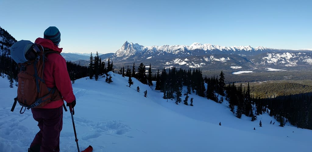 Hankin-Evelyn Backcountry Skiing Rec Area Smithers BC