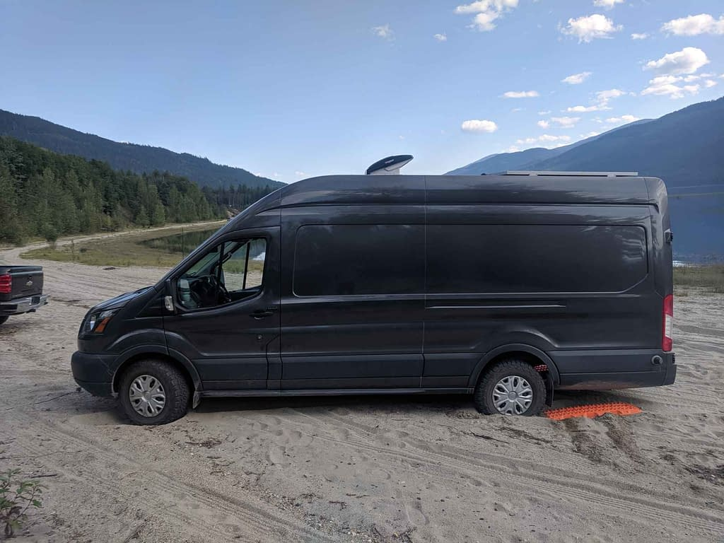Maxtrax Recovery Ford Transit Sand