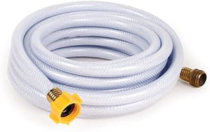 Camco 25ft hose, lead and BPA free, fresh water tank