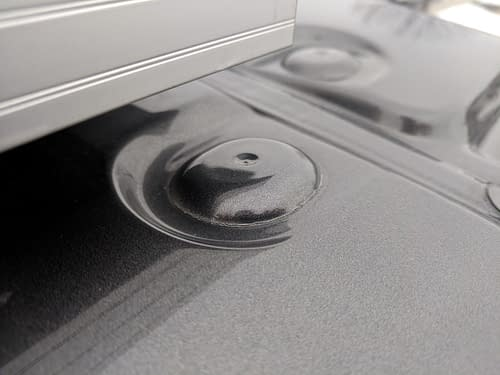 Ford Transit Cracked Paint