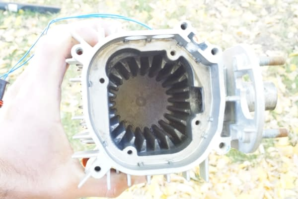 Webasto How to Install New Combustion Chamber-Combustion Chamber Cleaned