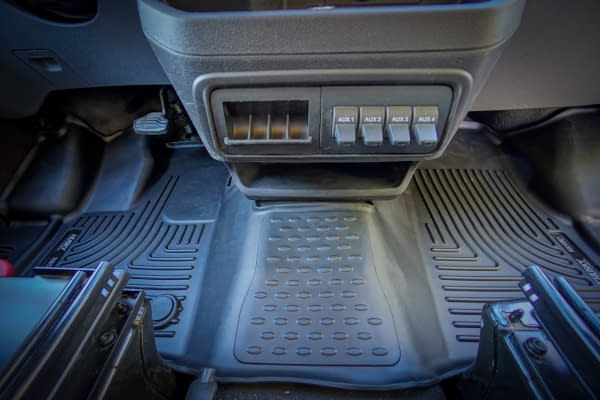 Husky Floor Mats Liners Ford Transit (1 of 4)