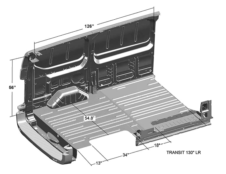 Ford-Transit-Interior-Cargo-Dimensions-(Regular-Length-130WB,-Low-Roof)