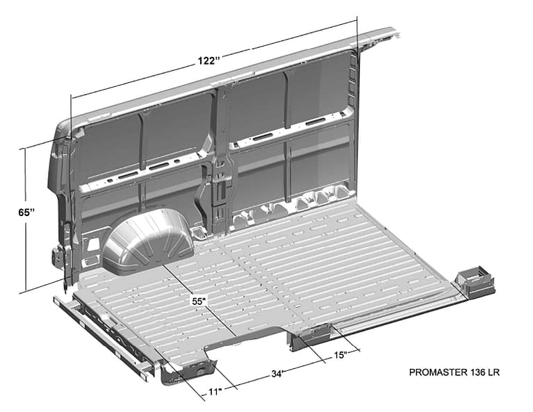 Ram-ProMaster-Interior-Cargo-Dimensions-(136WB,-Low-Roof)