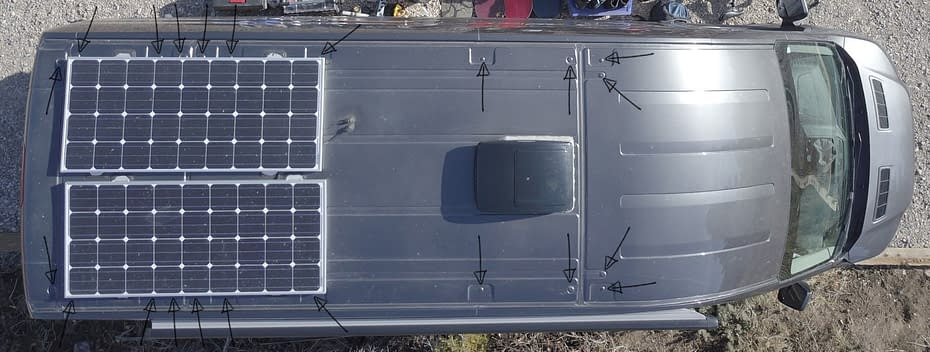 Ford-Transit-Roof-arrow